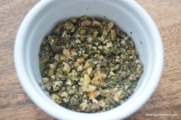 Oregano-Thyme Pesto